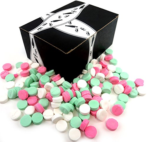 NECCO Canada Mints 3-Flavor Variety: One 1 lb Assorted Ba...