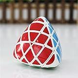 GoodPlay Moyu Aosu Mastermorphix Speed Cube 4x4 Magic Puzzle Cube-White(+One Cube Bag)