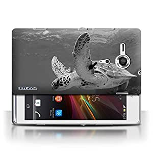 STUFF4 Phone Case / Cover for Sony Xperia SP/C5303 / Turtle Design / Mono Zoo Animals Collection