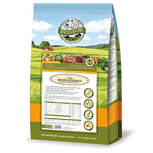 Heide-Schmaus - Weidelamm & Kaninchenfleisch - Getreidefrei (7,5 Kg)
