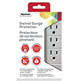 Hipstreet 6 Outlet Home/Office Swivel Power Surge - 1000 Joule Surge Protection