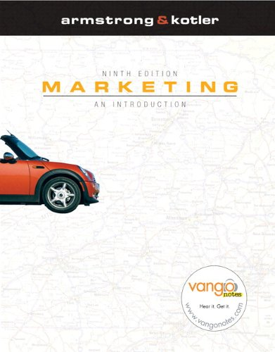 Marketing: An Introduction and MyMarketingLab Package, 9th Edition