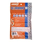 AMMEX Nitrile Disposable Gloves 6/pack, Heavy Duty, Disposable, 8 mil Thick, Unisize, Orange, Pack of 6
