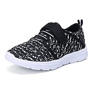 UKRIS Kids Lightweight Breathable Sneakers Easy Walk Casual Sport Shoes for Boys Girls