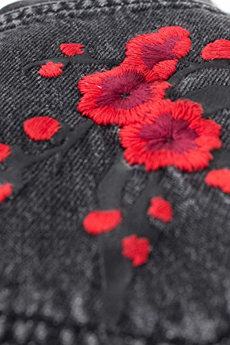 18wwdd45 Jeans Sakura Desigual Femmes Noir Denim B6q4Ia