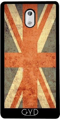 Funda de silicona para Nokia 3 - Grunge Bandera Del Reino Unido by Warp9