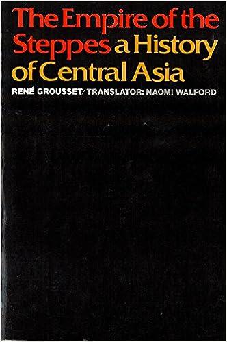 The Empire of the Steppes: A History of Central Asia ile ilgili görsel sonucu
