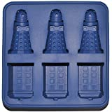 Doctor Who Silicone Ice Cube Tray and Chocolate Mold - Tardis and Daleks
