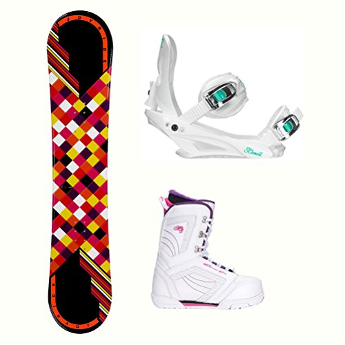 ck Cosmo Womens Complete Snowboard Package - 140cm/9.0 ()