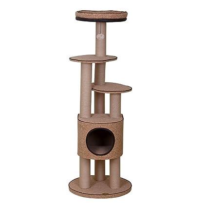Árbol de gato Estructura de escalada para gatos, sisal de corcho Estructura de escalada para gatos ...