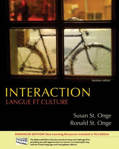 Interaction: Langue et culture, Enhanced Pdf
