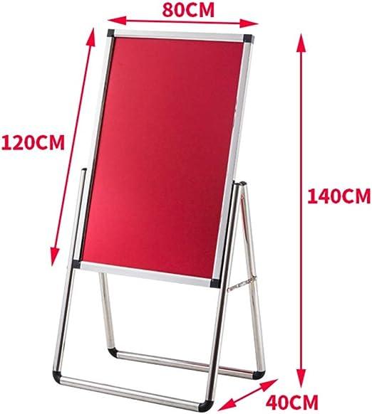 WQQTT Poster Display Stand Display Rack Advertising Frame Bracket Poster Board Display Billboard Display Stand Vertical Floor Type Bevel Floor-Standing Sign Holder Color : D