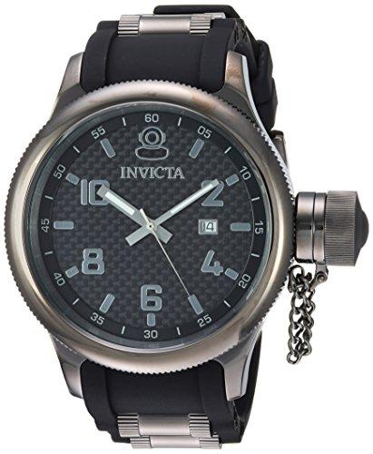 Invicta Men's 'Russian Diver' Quartz Stainless Steel and ...