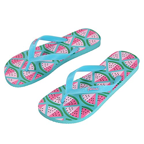 Flip 7 5 6 Size Flop Size 5 Watermelon Woman Corte Series Slippers Aerusi 8 Ocean SEA081039 Design Us 7 Man Sandal 6UqApWRwY