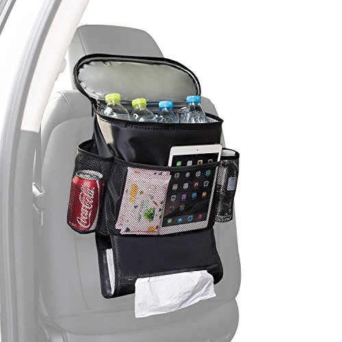 Autoark Bigger Car Seat Back Organizer,Multi-Pocket Travel Storage Bag(Heat-Preservation and Waterproof),AK-021