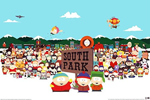 South Park Cast Poster 36 x 24in