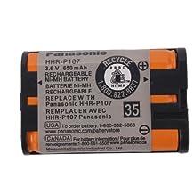 Panasonic HHR-P107 Original Ni-Mh Cordless Phone Battery