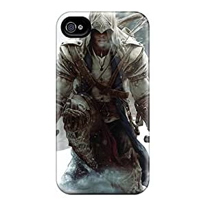 Shock Absorption Cell-phone Hard Cover For Iphone 6 (IDf2141MEsS) Provide Private Custom High-definition Assassins Creed 3 Pictures