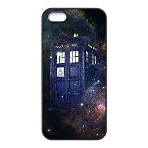 RMGT Doctor Who starry night blue police box Cell Phone Case for Iphone 6 plus 5.5