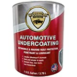 woolwax Auto/Truck Lanolin Undercoating 1 Gallon Pail. Black Color.
