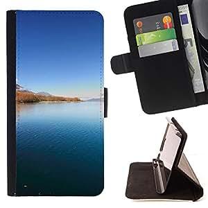 For LG G3 - Landscape beauty /Funda de piel cubierta de la carpeta Foilo con cierre magn???¡¯????tico/ - Super Marley Shop -