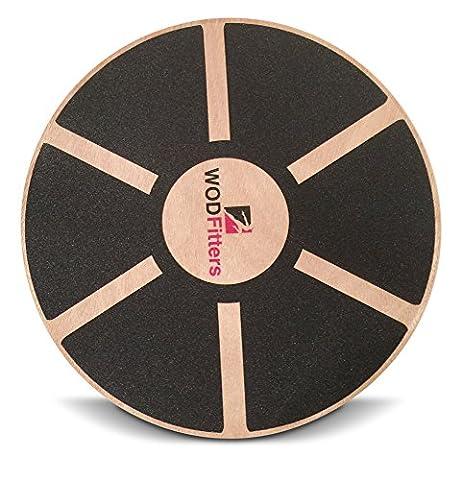 WODFitters Balance Board - Premium Wooden Wobble Board - 16