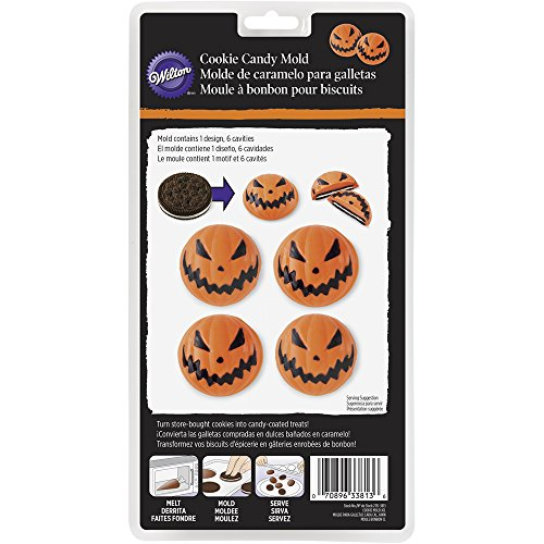 Wilton Jack-o'-lantern Halloween Cookie Mold ()