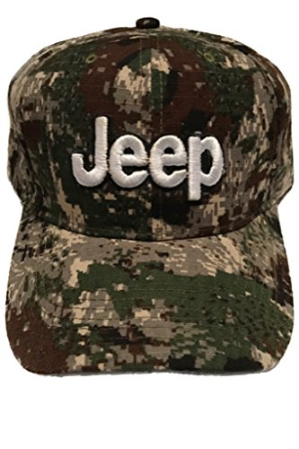 - Jeep Baseball Cap Hat. Camo. Camouflage Digital Patterns. New!