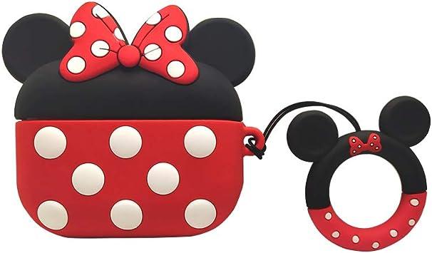 Amazon Com Minnie Mouse Airpods Pro Case Kpurple For Cartoon