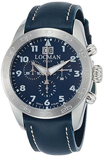 LOCMAN watch ISOLA D'ELBA 0460A02-00BLWHPB Men's