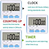 Ruyixws Digital Kitchen Timer with Large LCD