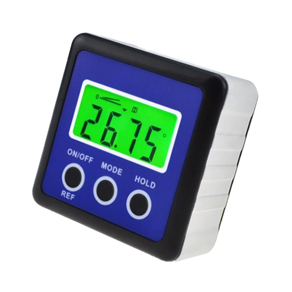 MagiDeal Mini LCD Digital Protractor Angle Finder Level Inclinometer Functional