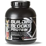 Supplement Rx – Building Blocks Protein Powder, Whey Protein-Egg White Complex, Rich Chocolate, 4lbs
