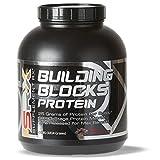Cheap Supplement Rx – Building Blocks Protein Powder, Whey Protein-Egg White Complex, Rich Chocolate, 4lbs