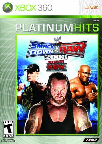 WWE SmackDown vs. Raw 2008 - Xbox 360 (Wwe Raw Xbox)