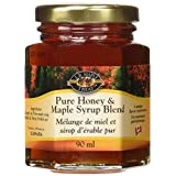 L B Maple Treat Maple Syrup and Honey Blend, 90ml