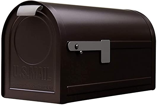 Post-Mount Mailbox Gibraltar Mailboxes Northpointe Large Capacity Galvanized Steel Venetian Bronze NM16NV01 Postmaster NM160V01