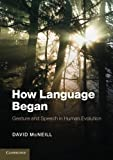 How Language Began: Gesture and Speech in Human Evolution (Approaches to the Evolution of Language)