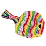 Puppy Pet New Dog Pants Knickers Nappy Heat Menstruation Diaper Sanitary Pant (XL, As The pict)