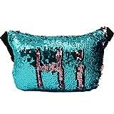 Magibag DIY Mermaid Reversible Sequin Waist Pack Pallette Bling Evening Bum Bag