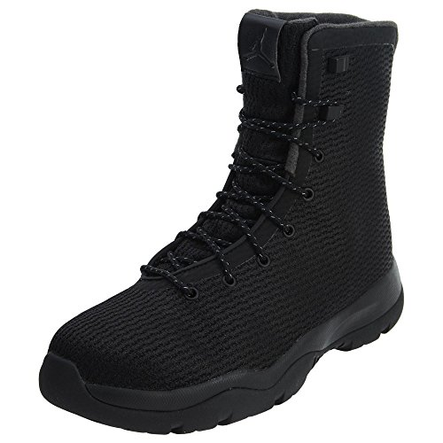 (NIKE Jordan Future Boot Mens Fashion-Sneakers 854554-002_8.5 - Black/Black-Dark Grey)