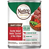 Best Nutro Canned Beefs - Nutro Hearty STEW Adult Canned Wet Dog Food Review