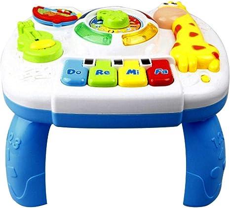 Juguetes para bebés Mesa de aprendizaje musical Mesa de juegos ...