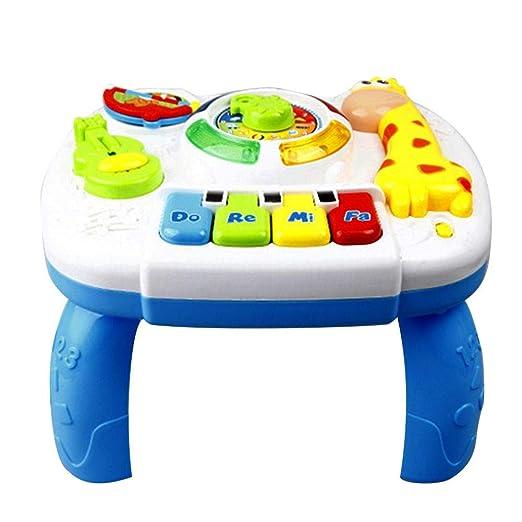Blue-Yan Toys - Mesa de Aprendizaje Musical para bebé, Centro de ...