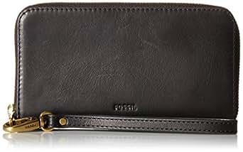 Fossil Emma Smartphone Wristlet Wallet Rfid, Black
