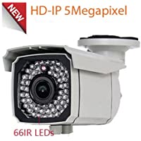 Amview HD IP 5MP PoE Security Camera 2.8-12mm Varifocal Lens OnVif Surveillance CCTV Camera