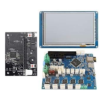 Amazon.com: Almencla Duet 2 WiFi V1.04 - Placa de control de ...