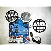 """PIAA 510 Xtra Super White Driving Lamp 4"""" Round Kit"""