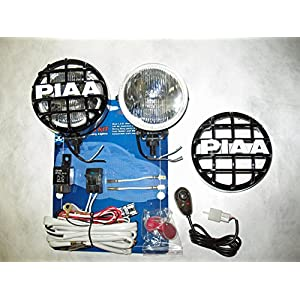 "PIAA 510 Xtra Super White Driving Lamp 4"" Round Kit"