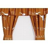 Texas Longhorns Collegiate Curtains - NCAA Orange Window Treatment
